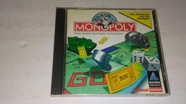 Vintage Monopoly CD-ROM Computer Video Board Game (PC, 1996) Windows Version - $44.91