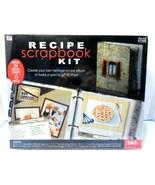Westrim Crafts Recipe Scrapbook Kit, 385 piece NEW - $15.46