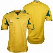 ADIDAS SOUTH AFRICAN SOCCER JERSEY MENS LARGE L FOOTBALL ASSOCIATION $70... - €34,29 EUR