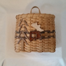 Wall Basket, Woven Basket - Moose - $28.00