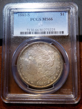 1881-S Morgan Dollar MS 66 PCGS           11393-210 - $414.95