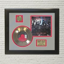 "MOTLEY CRUE - GIRLS GIRLS GIRLS GOLD 45 RECORD DISPLAY FRAMED""M4"" - $151.95"