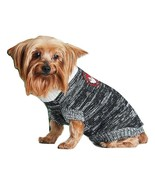 Adorable Puppy Sweater Vest by Canada Weather Gear Pet Apparel Gray Bran... - $30.00