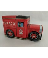 Texaco Petroleum Products Tin Bank Truck Rotating Wheels - $10.39