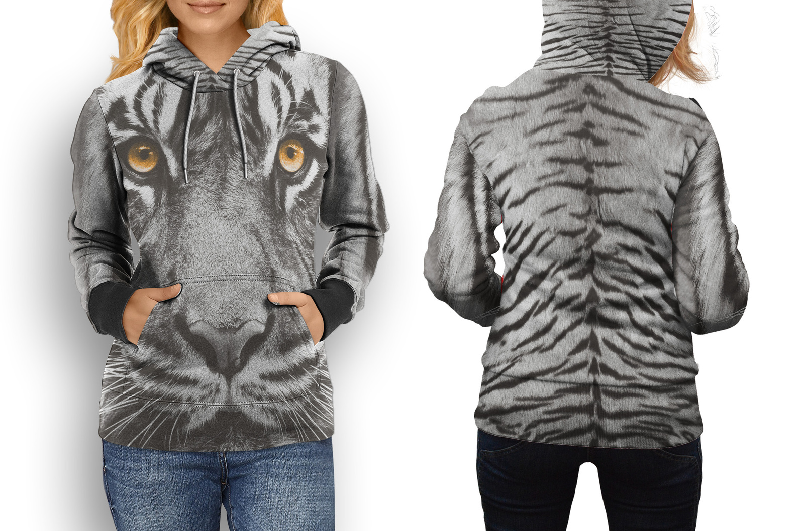 Primary image for hoodie women Eyes Of Tiger