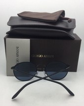 New GIORGIO ARMANI Sunglasses AR 8005 5001/R5 Matte Black on Black Frame... - $249.95
