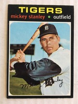 1971 Topps #524 Mickey Stanley Baseball Card EX+/NM Condition Detroit Ti... - $14.99