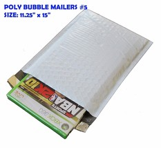 100 Poly Bubble Mailer Padded Shipping Envelope Self Sealing Bags 11.25 ... - $50.44