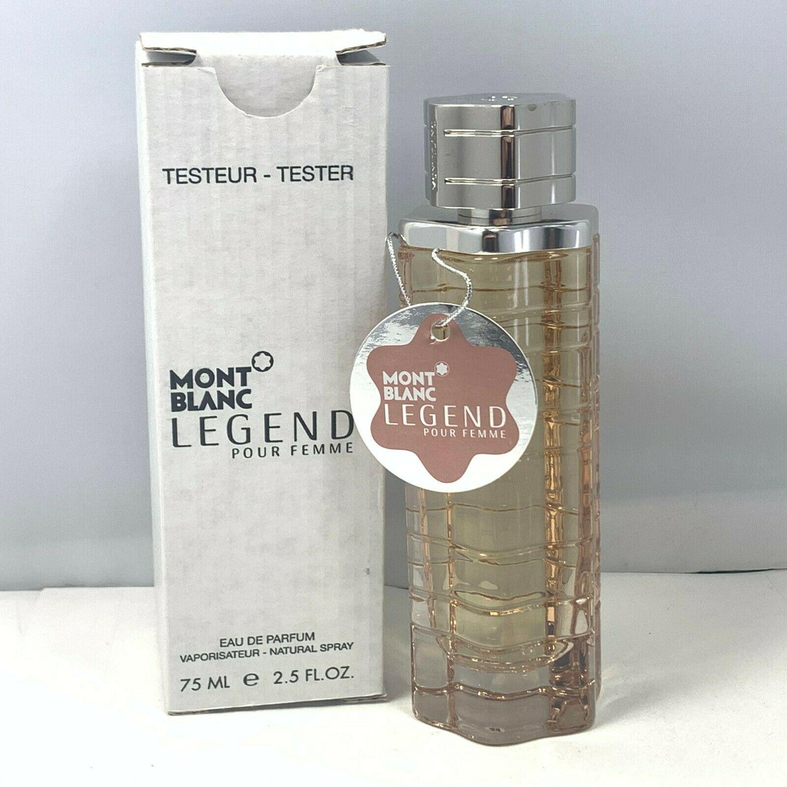 Aaamont blanc legend 2.5 oz tester perfume