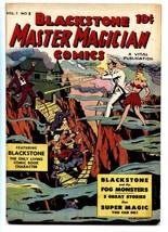 BLACKSTONE MASTER MAGICIAN #3 VITAL Mummies-Fog monster-comic book - $181.88