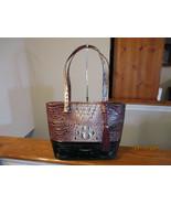 AuthenticBrahmin Medium Misha Port Sonnet Embossed Leather Multi New W/Tag - $227.69