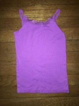 * The Childrens Place purple Lace Tank pajama top pj jammies size 7 - 8 ... - $2.48
