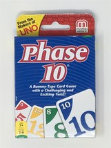 Phase 10 Card Game -  Brand New Sealed Pack for 2-6 Players from Makers ... - $9.25