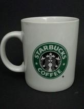 Beadshine Starbucks Coffee Mug Tea Cup Mermaid Siren Logo Black Green White - $19.79