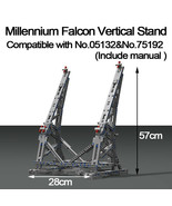 Vertical Display Stand For Millennium Falcon Compatible Ultimate 05132 7... - $39.99