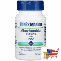 Life Extension, Mitochondrial Basics with PQQ, 30 Capsules - $46.50