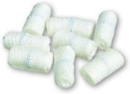 """500 Pack White Gauze X-Ray Detectable Ravel Free Cross Sponges 9/16"""" x 1/4"""" - $171.02+"""
