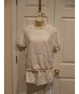 new in pkg vintage sears acrylic terry top & short set Made in USA size 11 - $5.94