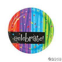 Milestone Celebration Paper Dinner Plates - $3.86