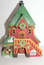 Santa's Rooming House Department 56 North Pole Heritage Village Collection  - $34.95