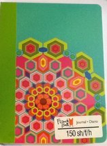 French Bull Journal ~ Geometric Flower Head (150 Sheets, 300 Pages; 2014) - $19.78