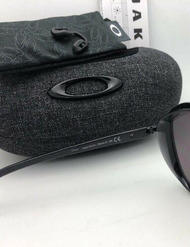 New OAKLEY Sunglasses OUTPACE OO4133-01 Black Ink-Black Frame w/ Warm Grey Lens image 9