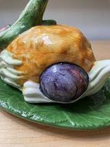 Vintage 'Vegetable Bunny' Covered Butter Dish image 4