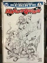 Harley Quinn #1 DC Comics 2013 Rebirth Benitez Cover Comic Hero U Variant B/W - $146.99