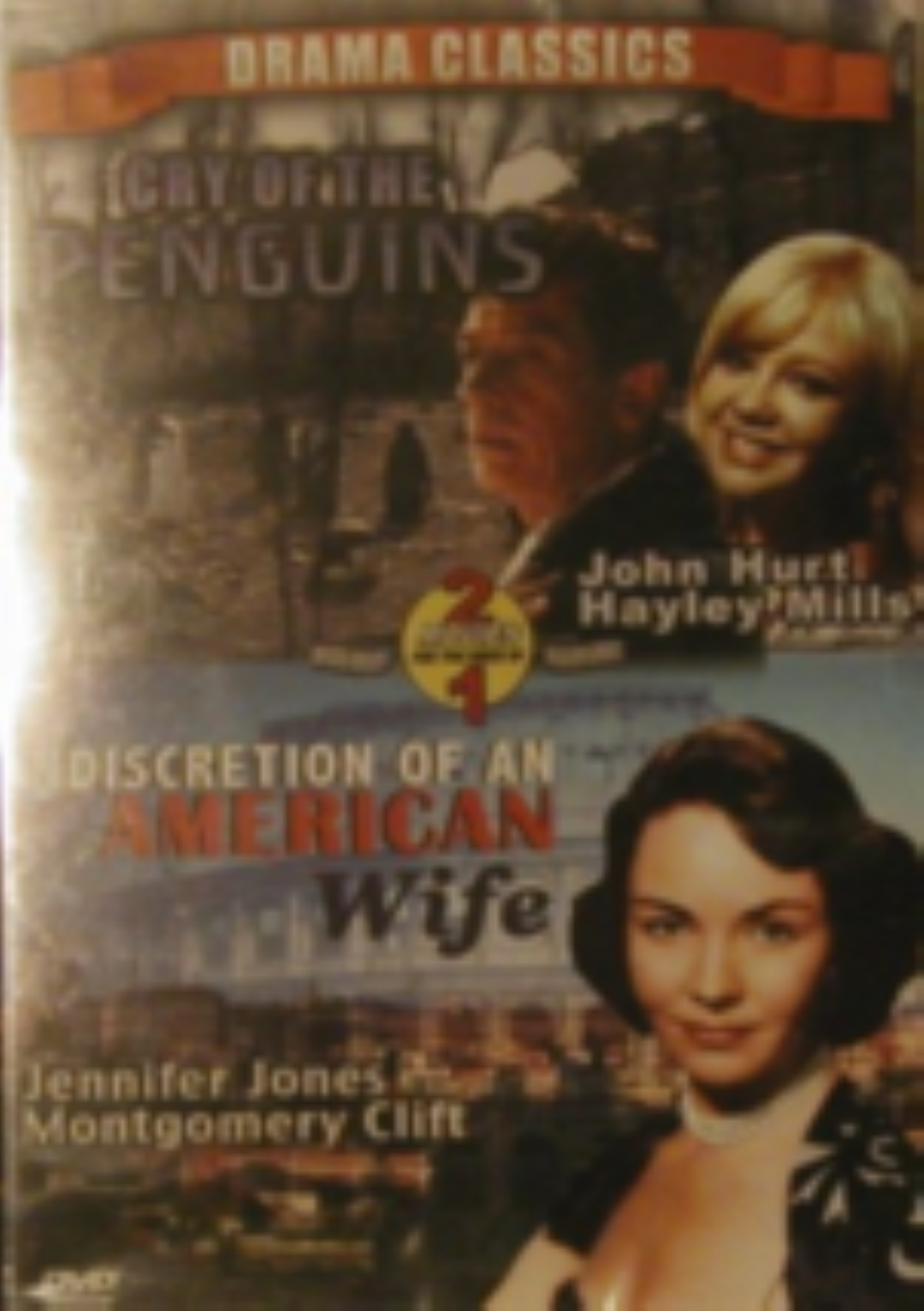 Cry of the Penguins / Indiscretion of an American Wife Dvd