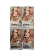 4 Boxes L'Oreal Féria 822 Medium Iredescent Blonde 822 Rose Gold - $121.55