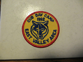 CUB DAY CAMP,1982 DATED, EAST VALLEY AREA,B.S.A.SCOUTING OLD COLLECTALBE... - $14.25