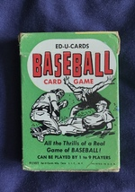 Ed-U-Cards Baseball Game 1957 All Included, Good Cond, Flip Movie, Copie... - $17.77