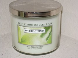 Bath & Body Works Slatkin & Co 14.5 Oz. Filled Candle - White Citrus - $110.00