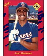 Lot Of 8 Juan Gonzalez Baseball Cards (NM) - $7.00