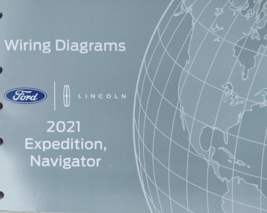 2021 Ford Expedition Lincoln Navigator Electrical Wiring Diagram Manual ... - $39.59
