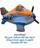 RARE Disney Planes Movie Dusty Birthday Party Decoration AeroPlay Mylar ... - $18.17