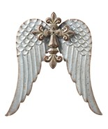 Large Cross with Wing,Wall  Sculpture,Metal,16'' x 17''H - $59.40
