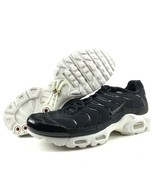 Nike Air Max Plus TN Size 13 Tuned Running Shoes Black Summit White Tune... - $159.95
