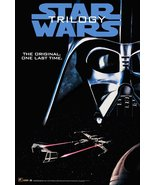 STAR WARS Trilogy Adv. Reproduction Stand-Up Display - Sci-Fi Space Acti... - $15.99
