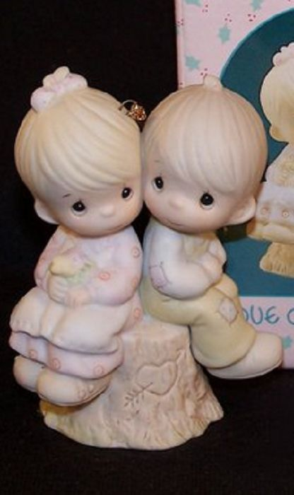 Primary image for Precious Moments Love One Another Porcelain Ornament 522929
