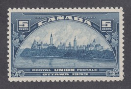 1933 Parliament Buildings Ottawa Canada Postage Stamp Catalog Number 202 MNH