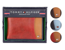 Tommy Hilfiger Men's Premium Leather Credit Card ID Wallet Passcase 31TL220014 image 1