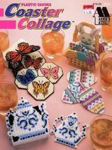 Plastic Canvas Coaster Collage Annie's Attic 879108 Butterflies, Angels,... - $5.95
