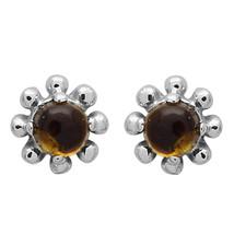 Amazing !! Tourmaline Stone 925 Sterling Silver Earring Shine Jewelry SH... - $8.86
