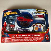 Marvel Spiderman DIY Slime Station NEW. Spider-man. - $9.95