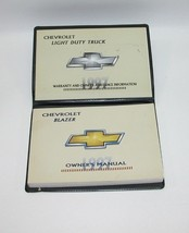 1997 Chevrolet Blazer Factory Original Owners Manual Book Portfolio USED... - $18.76