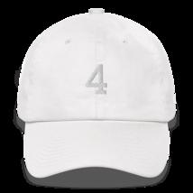 BRETT FAVRE 4 HAT / FAVRE HAT / 4 HAT / packers hat / DAD HAT image 5