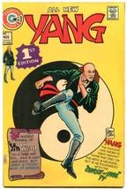 Yang #1 1973- Charlton Comics- Martial Arts superhero VF - $47.92