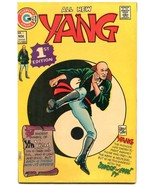 Yang #1 1973- Charlton Comics- Martial Arts superhero VF - $47.92