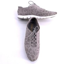 Cole Haan ZeroGrand Womens Sz 10 Perforated Sneakers Ironstone Taupe - $39.55